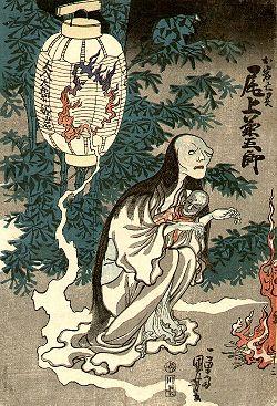 Yotsuya Kaidan, a ghost from Japanese tradition