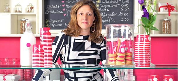 Elena Pallota combines keen business and language skills