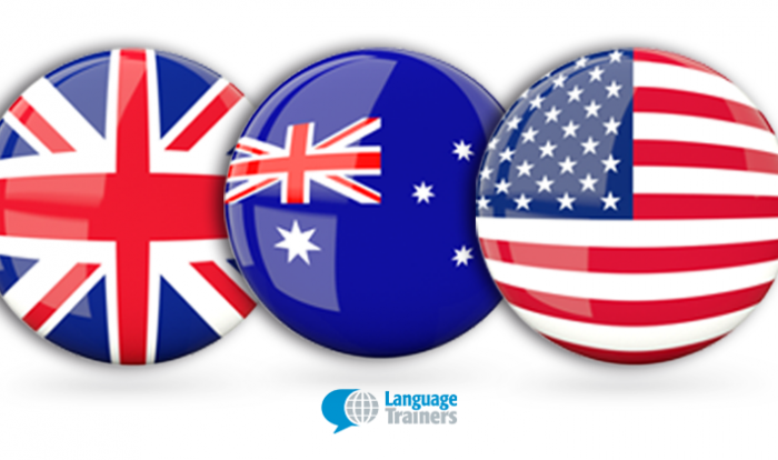british australian american