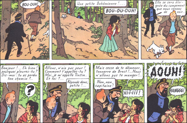 Language Trainers :: Foreign Books Reviews from Hergé :: The