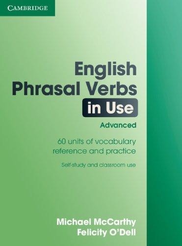 English Phrasal Verbs in Use: Michael McCarthy & Felicity