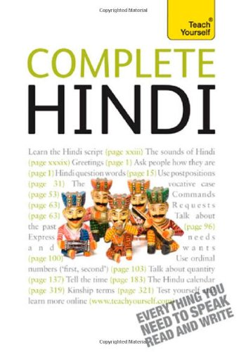 Complete Hindi: A Teach Yourself Guide