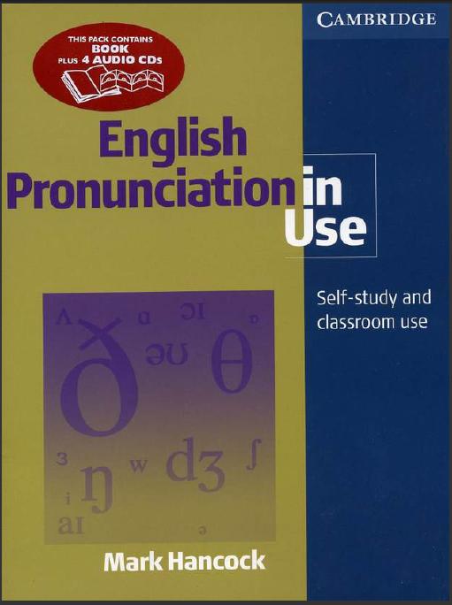 English Pronunciation in Use: Mark Hancock: English Course Book Review ...
