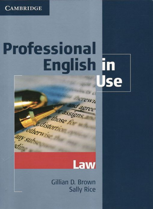 Professional English in Use: Law